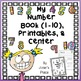 Number Books 1-10 and 11-20 BUNDLE!