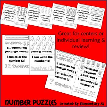 Number Books (1-20)