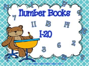 Number Books 1-20