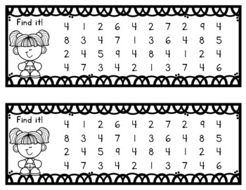 Transitional Kindergarten: Number Books 1 to 10