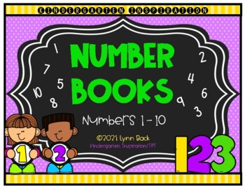 Transitional Kindergarten: Number Books 1 to 10