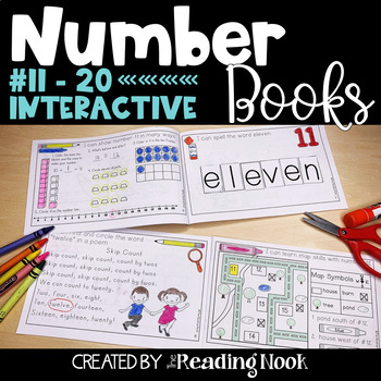 Number Books #11-20