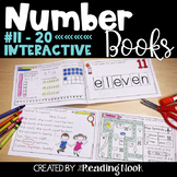 Number Books   Interactive Counting Books #11-20
