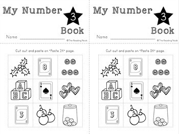 Number Books 0-20 Flip Books