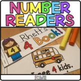 Number Books {Easy Sight Word Readers}