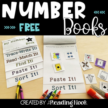 Number Books Free