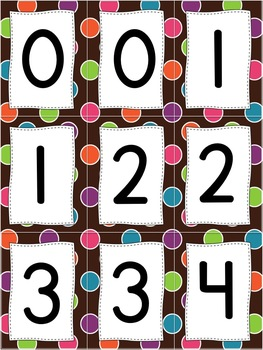 Number Books and Number Practice