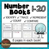 Number Books for Kindergarten 1-20