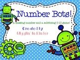 Missing Number & Subitizing Sets - Number Set Bots - {Freebie}