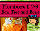 Numbers 1-20 Bow Ties and Bows