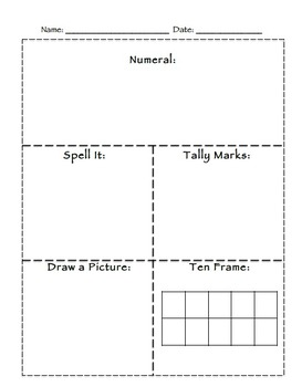 Number Boxes