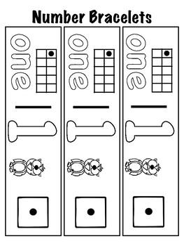 Number Bracelets