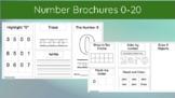 Number Brochures 0-20