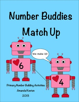 Make a 10 with Number Buddies: Match Up