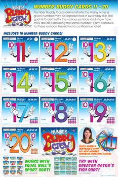 Number Buddy (11-20) Card Pack