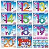 Number Buddy (11-20) Poster Pack