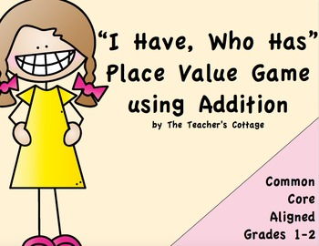 I Have, Who Has Place Value Activity