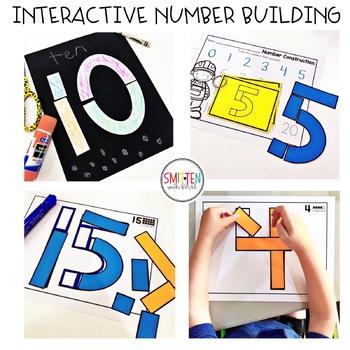 Number Building Activities   Preschool, PreK, Kindergarten