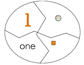 Number Building Puzzles 1-10