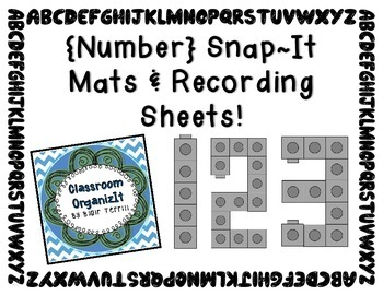 {Number Building Snap-It!}