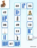 Number Building and Identification with Tens and Ones, Up to 50