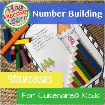 PDL's Number Building Staircases for Cuisenaire® Rods