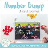 Number Bump Game Boards - Numeracy Center No Prep Games