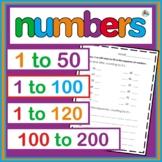 Number Bundle for First Grade