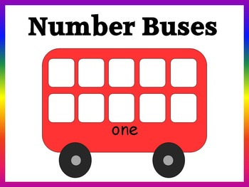Number Buses (numbers 1-10)
