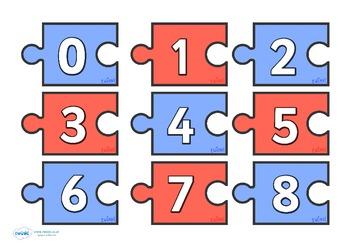 Number Calculation Jigsaw 0-10