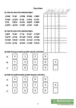 Number Calculations eBook