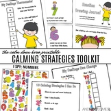 Number Calm Down Hero Printable Calming Strategies Toolkit for Kids