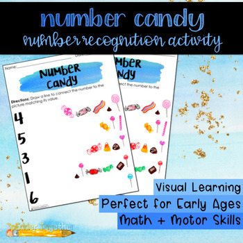 Number Candy: A Number Recognition Activity