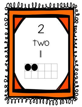 Number Card 0-10