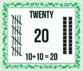 Addition Number Card: 20
