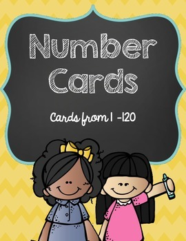 Number Card Freebie