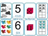 Number Card Game 1-10