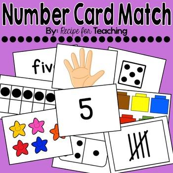 Number Card Match