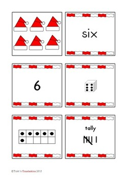 Number Card Sets - Seasonal and Holiday