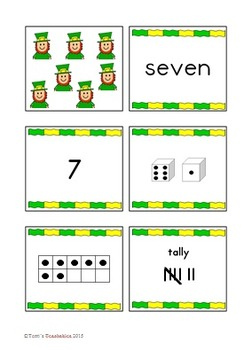 Number Card Sets - Seasonal and Holiday