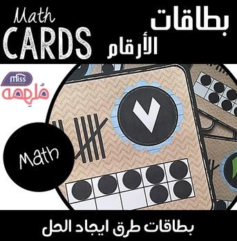 Number Cards -  بطاقات الأعداد