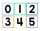 Printable Number Cards 0-10