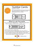 Number Cards 0-10 (digit-picture-word)