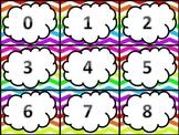 Number Cards 0 - 100 in Standard Form