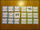 Number Card Activities 0-120 Snowmen