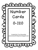 Number Cards 0-120