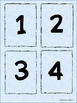 Number Cards 0 - 20 Math Centers Activities Math Stations Comparing
