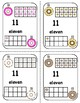 Printable Playing Cards: Number Cards 0-20, for Math Games with Ten Frames