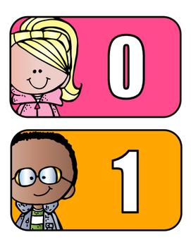 Number Cards (0-25)