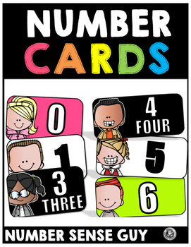 Number Cards (0-25)